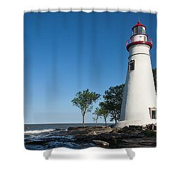 Marblehead Lighthouse Shower Curtain
