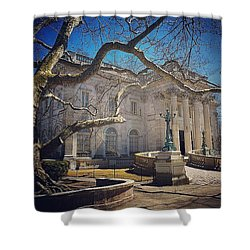 Marble House Shower Curtain