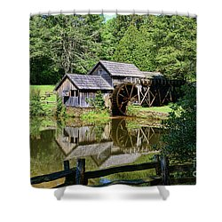 Marby Mill 2 Shower Curtain by Paul Ward