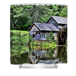 Marby Mill 3 Shower Curtain by Paul Ward
