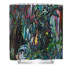 March Into The Sea Shower Curtain
