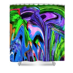 March Shower Curtain