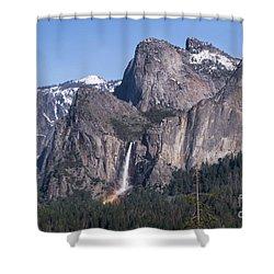 March Rainbow Shower Curtain