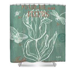 Marche Aux Fleurs Shower Curtain