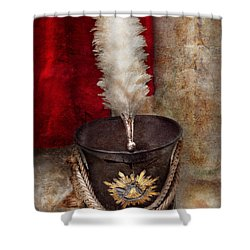 Marching Band - Celebrating The Marching Band Shower Curtain by Mike Savad