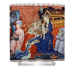 Marco Polo (1254-1324) Shower Curtain by Granger