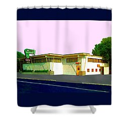 Marconi's Restaurant Shower Curtain