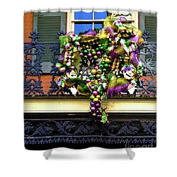 Mardi Gras Decor 1 Shower Curtain