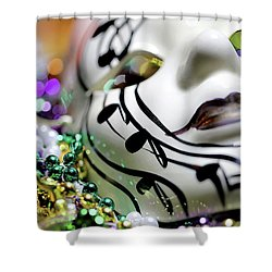 Mardi Gras I Shower Curtain by Trish Mistric