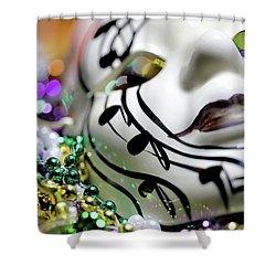 Mardi Gras I Shower Curtain
