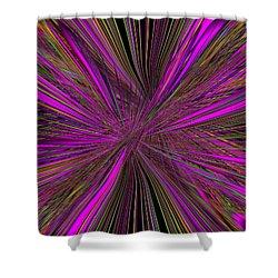 Mardi Gras Shower Curtain by Tim Allen