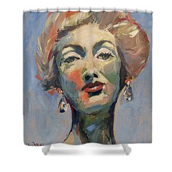 Marella Agnelli Shower Curtain