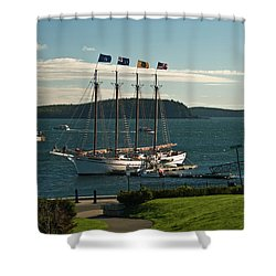 Margaret Todd - Bar Harbor Icon Shower Curtain