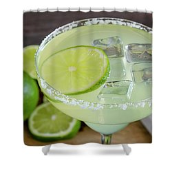 Shower Curtain featuring the photograph Margarita Close Up by Teri Virbickis