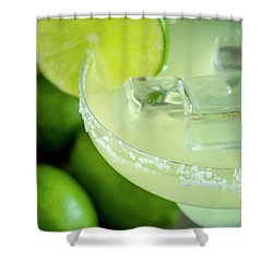 Shower Curtain featuring the photograph Margaritas Anyone by Teri Virbickis