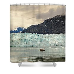 Margerie Glacier Shower Curtain