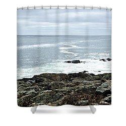 Marginal Way Ogunquit Maine Shower Curtain