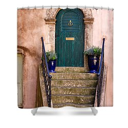 Margon Shower Curtain by Louise Heusinkveld