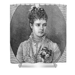 Maria Fyodorovna Shower Curtain by Granger