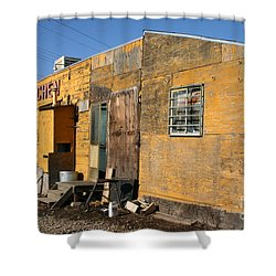 Maria S Kitchen Shower Curtain