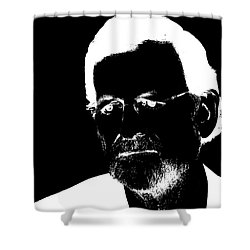 Mariano Rajoy Shower Curtain by Emme Pons