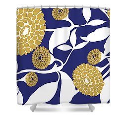 Marigolds II Shower Curtain