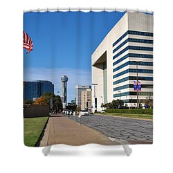 Marilla St. Shower Curtain