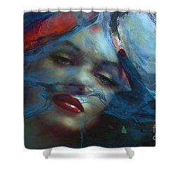 Marilyn 128 A 4 Shower Curtain
