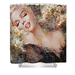 Marilyn Cherry Blossom Shower Curtain