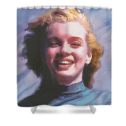 Marilyn Shower Curtain by David Klaboe