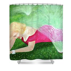 Marilyn Misted Shower Curtain