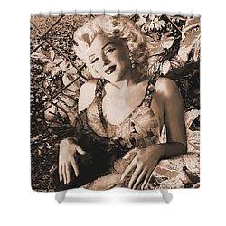 Marilyn Monroe 126 A 'sepia' Shower Curtain
