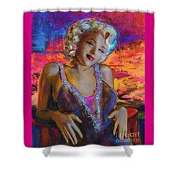 Marilyn Monroe 126 G Shower Curtain