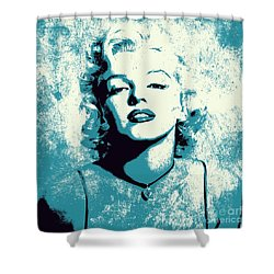 Marilyn Monroe - 201 Shower Curtain by Variance Collections