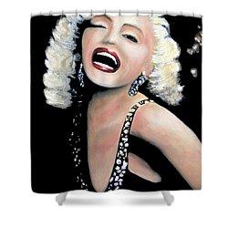 Marilyn Monroe Shower Curtain by Marti Green