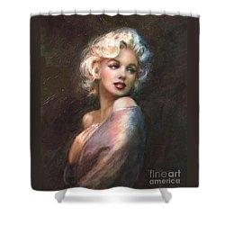Marilyn Ww Classics Shower Curtain by Theo Danella