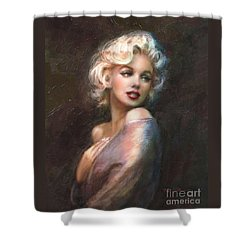 Marilyn Ww Classics Shower Curtain