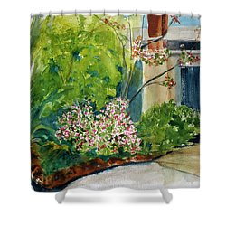 Marin Art And Garden Center Shower Curtain by Tom Simmons