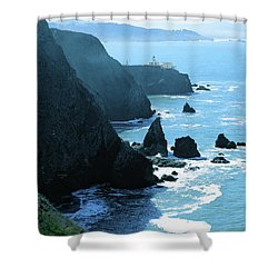 Marin Coastline Shower Curtain