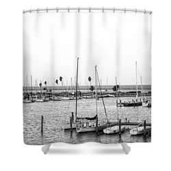 Marina De Corpus Christie Shower Curtain