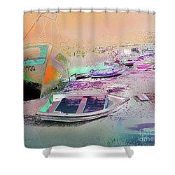 Marina De Huelva Shower Curtain