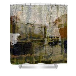 Marina Shapes II Shower Curtain