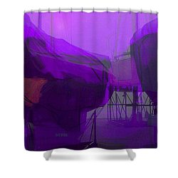 Marina Shapes Shower Curtain
