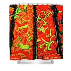 Marinated 3 Shower Curtain by Bruce Iorio
