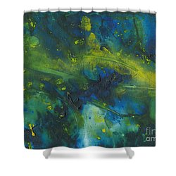 Marine Forest Shower Curtain