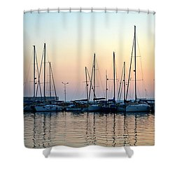 Marine Reflections Shower Curtain