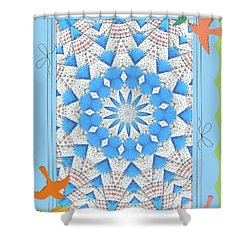 Mariner Star Shower Curtain