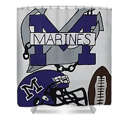 Marinette Marines. Shower Curtain by Jonathon Hansen