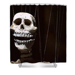 Marionette Shower Curtain by Joseph Skompski