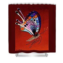 Mariposa Mamba Shower Curtain